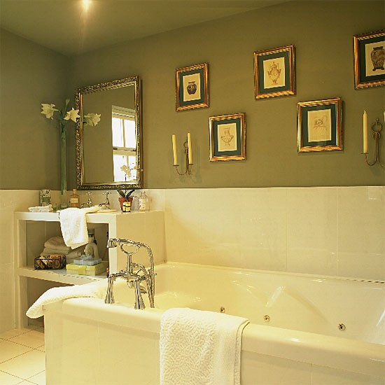 Olive Green Bathroom Ideas
