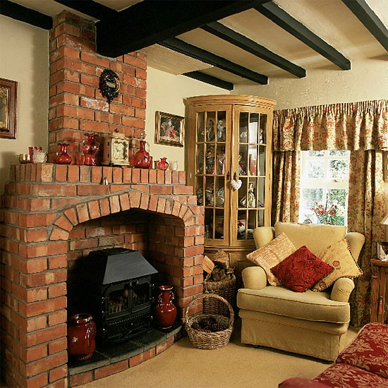Country Cottage Decorating Ideas: Country Cottage Living Room