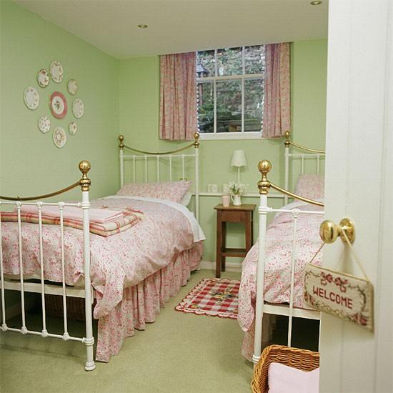 Green Children S Bedroom Bedroom Furniture Decorating