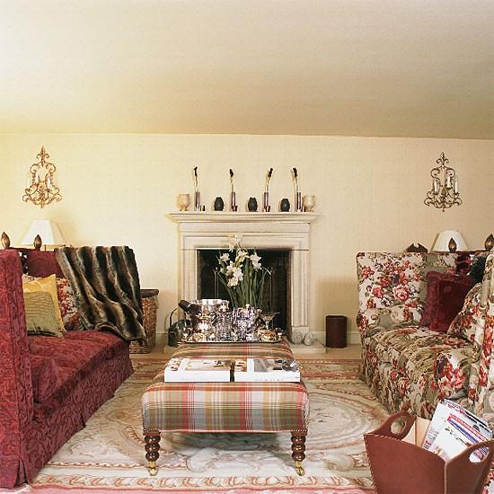 Formal Living Room Furniture Ideas: Colourful Formal Living Room