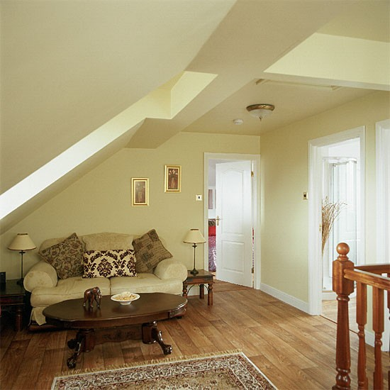 Paint Ideas For Hall Stairs And Landing: Hallway Relaxation Area