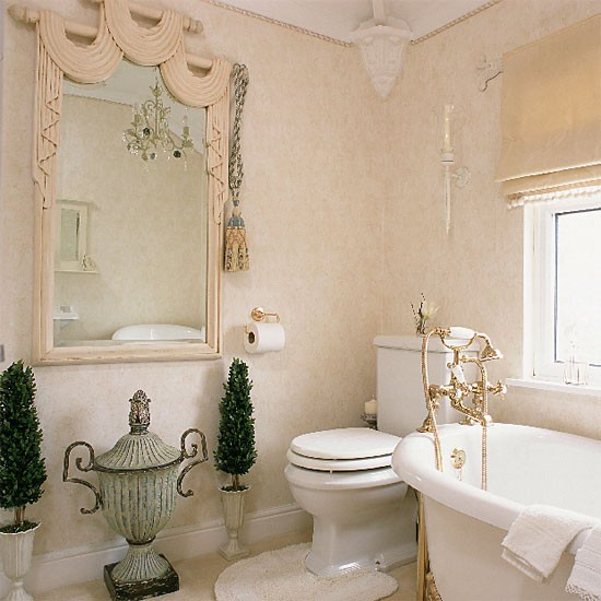Bathroom With Greek Style Urns Housetohome Co Uk