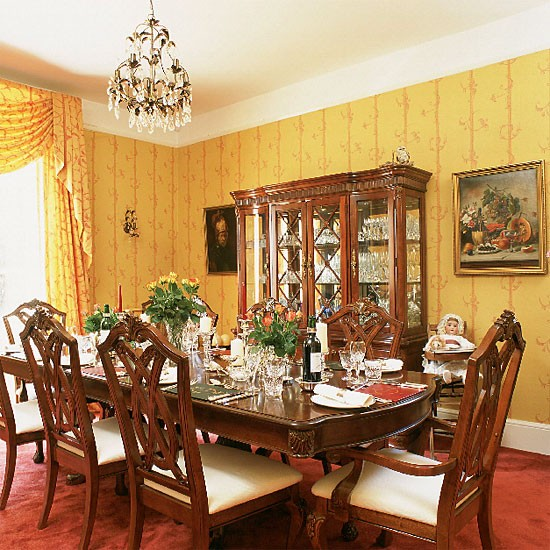 Yellow Dining Rooms: Yellow Formal Dining Room