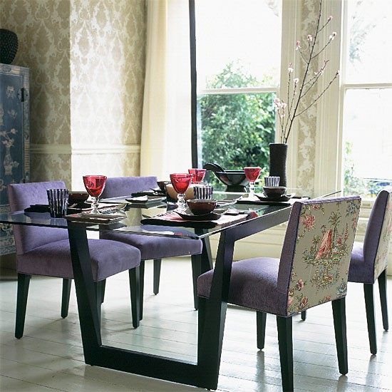 Elegant Tableware For Dining Rooms With Style: Oriental-style Dining Room
