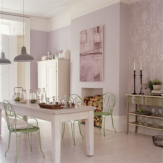 French Style Dining Room: French-style Kitchen/diner