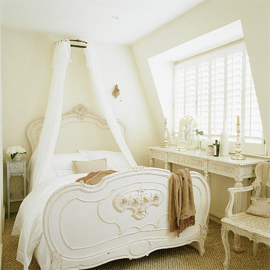 French-style Attic Bedroom