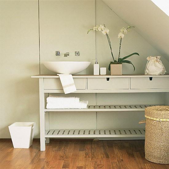 bathroom console table bathroom vanities design ideas. Black Bedroom Furniture Sets. Home Design Ideas