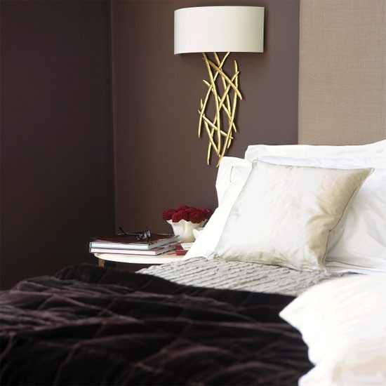 Rich brown bedroom bedroom furniture decorating ideas - Brown bedroom furniture decorating ideas ...