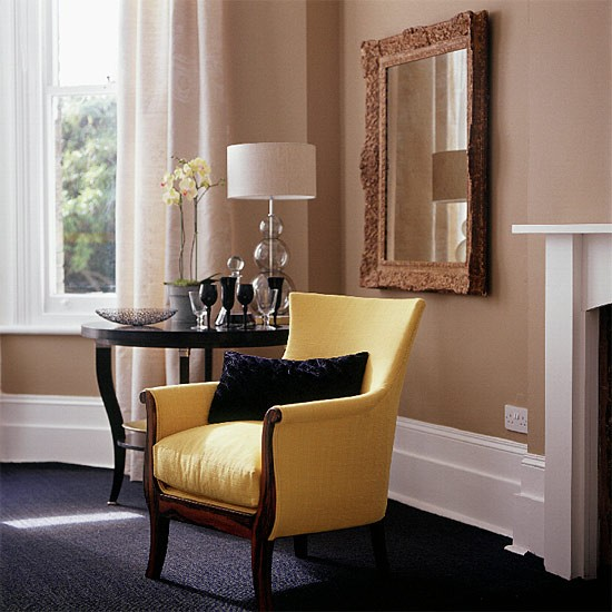 Painting Two Walls In A Room: Two Tone Living Room Paint Ideas