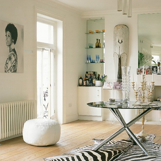 Eclectic Decorating Ideas: Eclectic Living Room