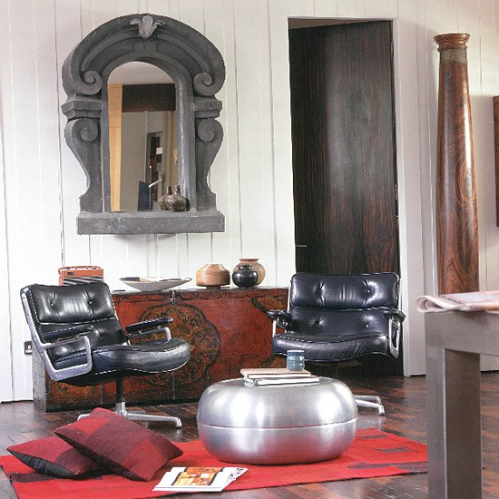 Housetohome Co Uk: Eclectic Living Room