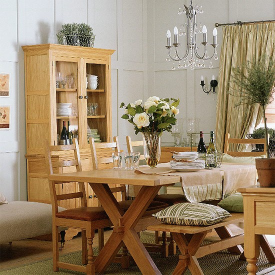 Pictures For Dining Room: French-country Dining Room