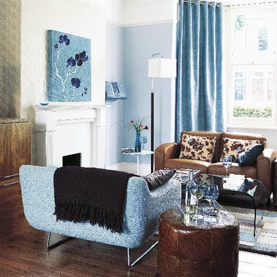 Blue Living Room Decorating Ideas: Living Room Furniture