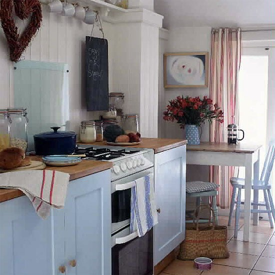 Budget country kitchen | Rustic kitchens | Design ideas ...