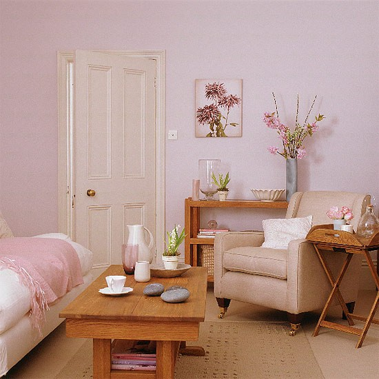 Living Room Inspirations: INTERIOR DESIGN CHATTER : Think Pink- Living Room Inspiration
