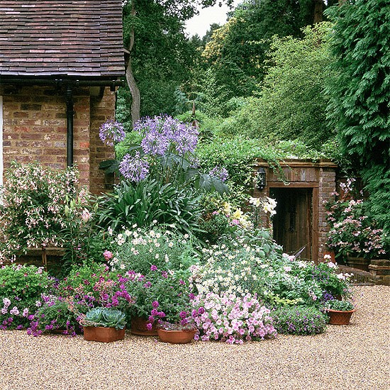 9 Cottage Style Garden Ideas: Softening The Corner Of A House