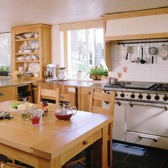 Oak Country Kitchen