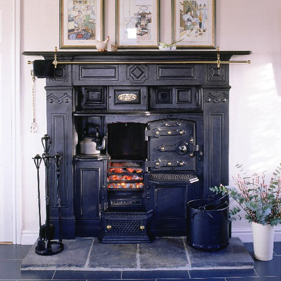 Victorian Kitchen: Reproduction Range Cooker