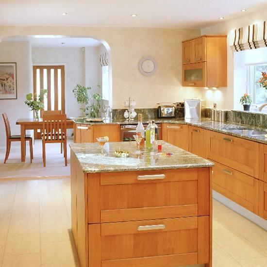 Modern Wooden Kitchen Designs: Modern Cherry Wood Kitchen