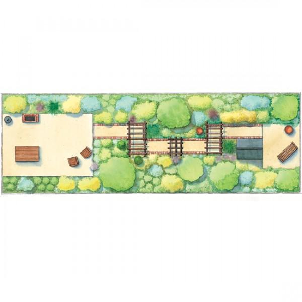 Thin Plot Garden Design