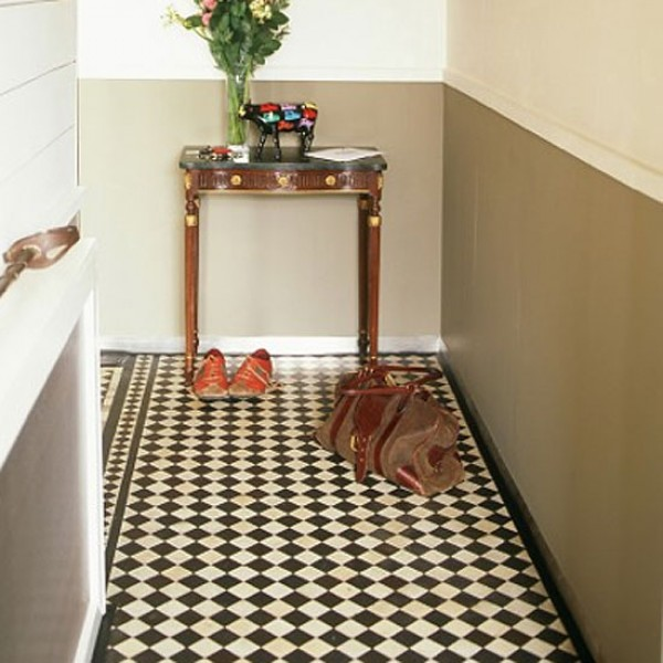 Victorian Hallway: How To Clean A Victorian Tiled Floor