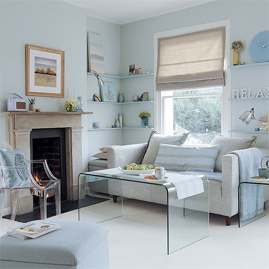 Pale Blue And Grey Scheme