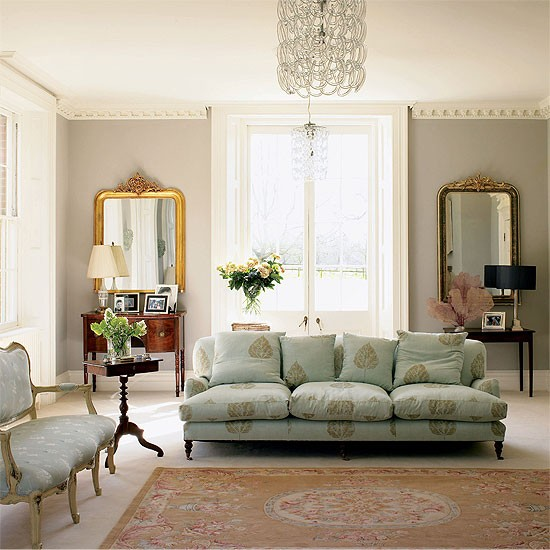 Period Living Room With Original Features And Tradtional