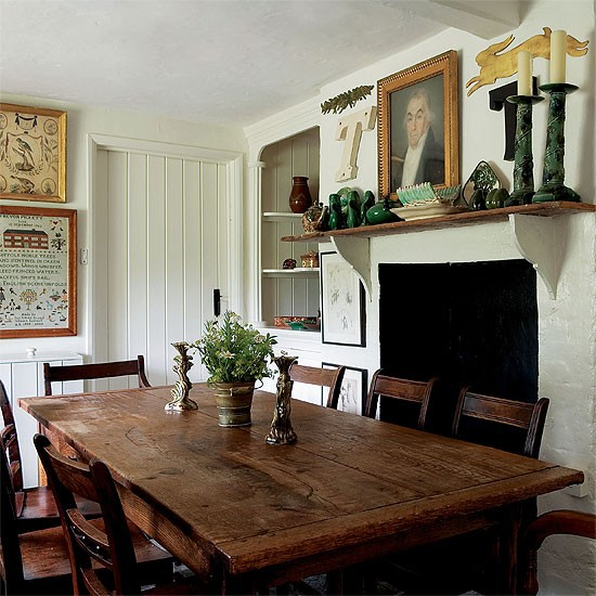Cottage Dining Room: Country Cottage Kitchen