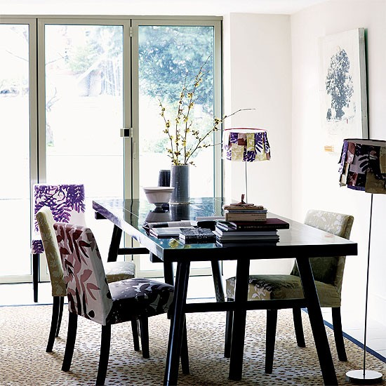 Dining Rooms From The Orient: Contemporary Oriental-style Dining Room