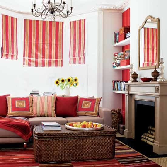 Bright Room Colors: Living Room Funirture