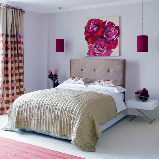 Romantic Bedroom Designs: Modern Romantic Bedroom
