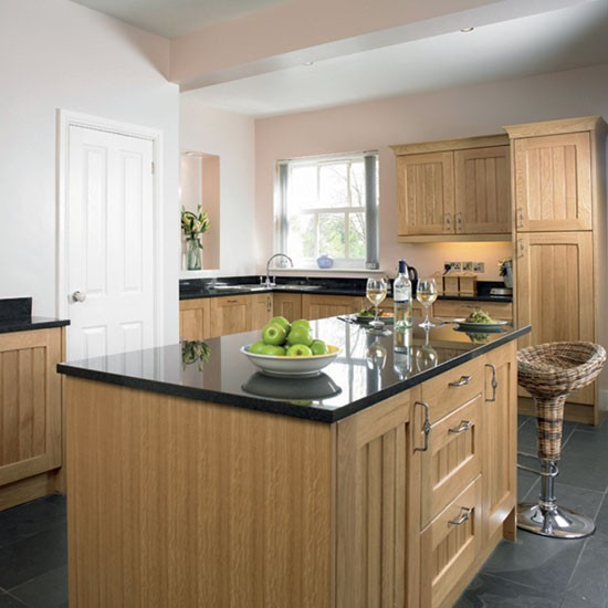 Country Kitchens Ideas: Country Oak Kitchen