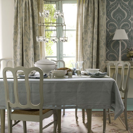 Blue Dining Room Decoration: Dining Room Furniture