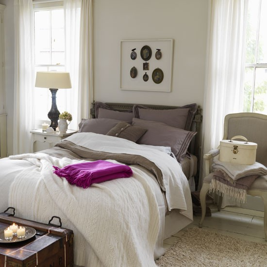 Peaceful Bedroom Colors And Decorating Ideas: Bedroom Furniture