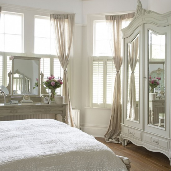Room Decor Furniture Interior Design Idea Neutral Room: Gorgeous Cream Bedroom