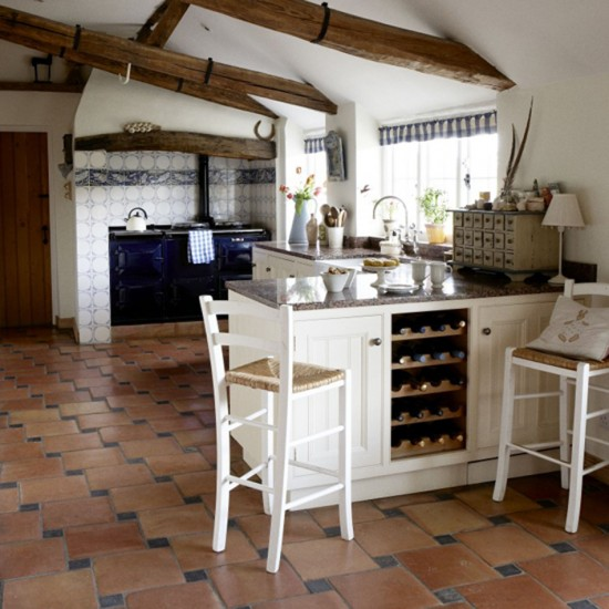 Country Kitchen Decorating Ideas: Farmhouse Kitchen