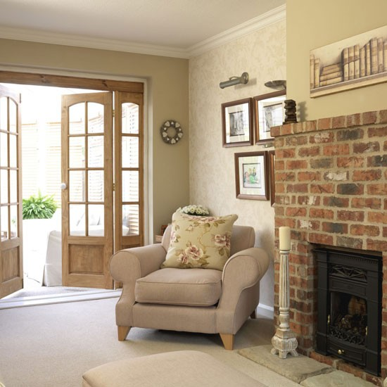 Country Living Room Designs: Homely Country Living Room