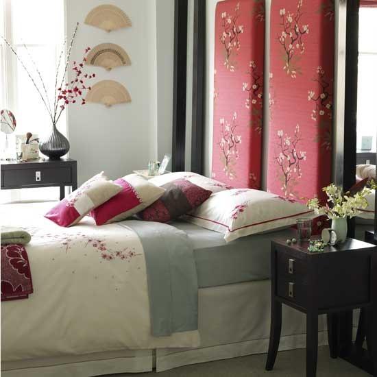 Oriental-style Bedroom