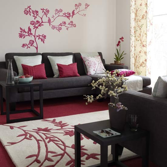Asian Inspired Living Room: Oriental-style Living Room