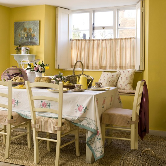 Country Style Dining Room Furniture: Country Cottage Style Dining