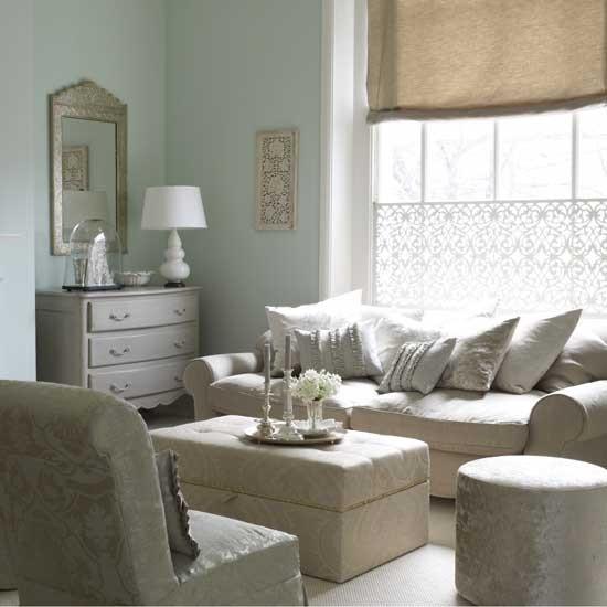 Duck Egg Living Room: Indian Influenced Living Room