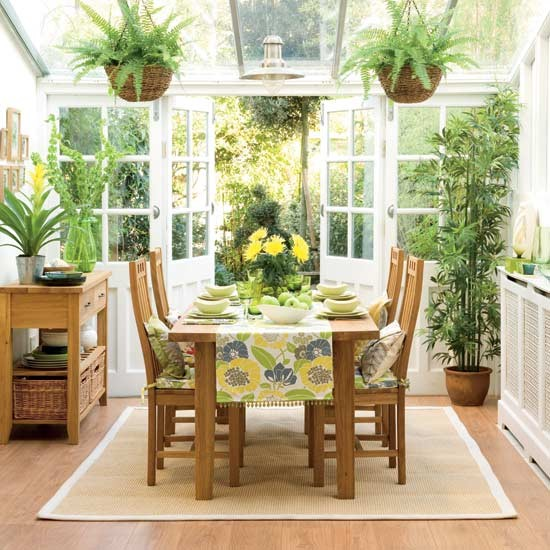 18 Tropical Dining Room Designs Ideas: Tropical Conservatory