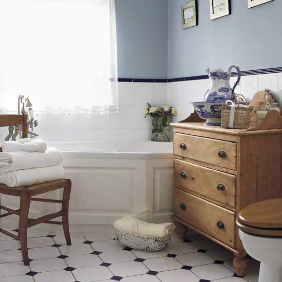 Country-style Bathroom