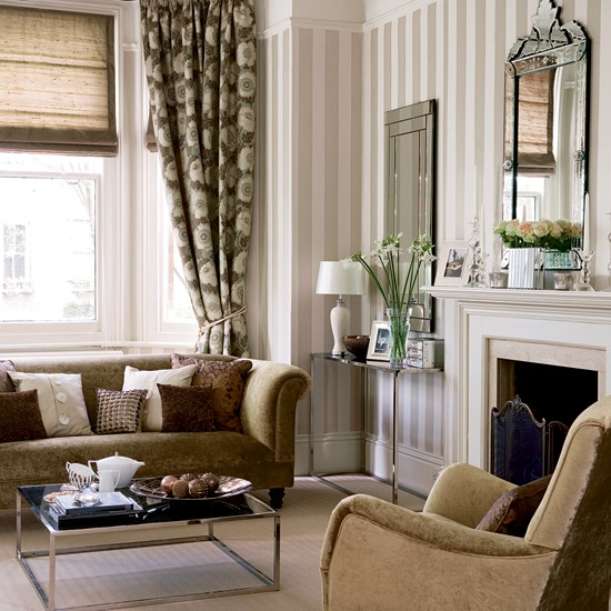 Metallic Living Room Living Room Furniture Decorating