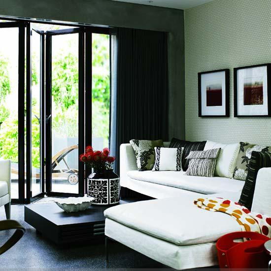 Monochromatic Room: Monochrome Living Room