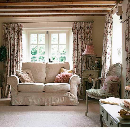 Vintage Paris Living Room: Vintage Living Room