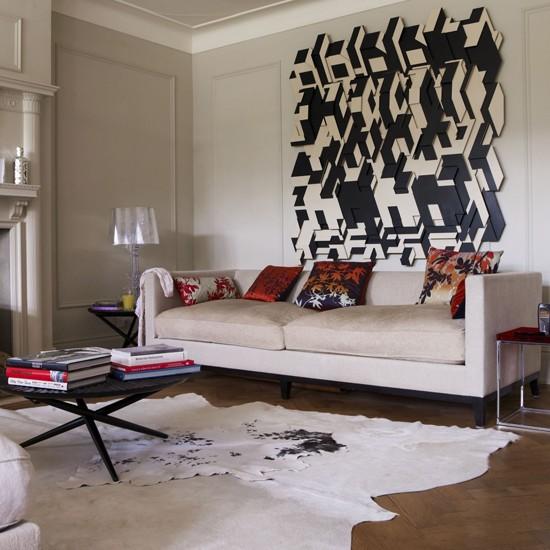 Statement Wall Living Room Housetohome Co Uk