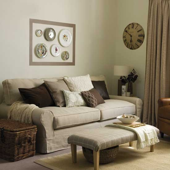 Living Rooms Warm Cozy: Warm And Cosy Living Room