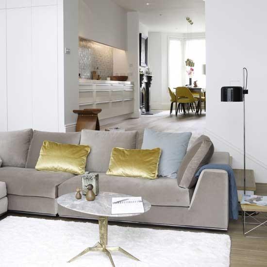 Housetohome Co Uk: Open-plan Living Room