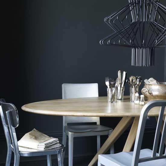 Modern Industrial Dining Room: Modern Industrial Dining Room